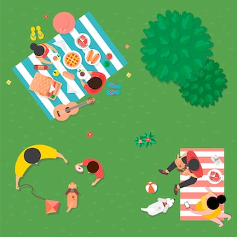 Vector of summer feel design