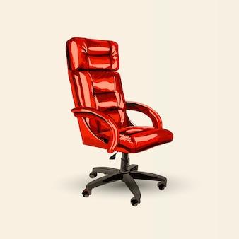 Vector office chair.