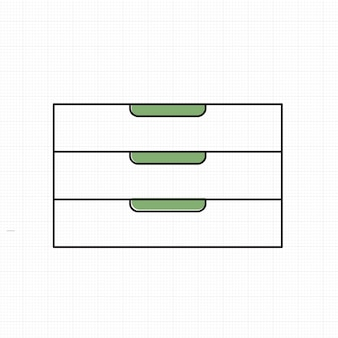 Vector of office supply icon