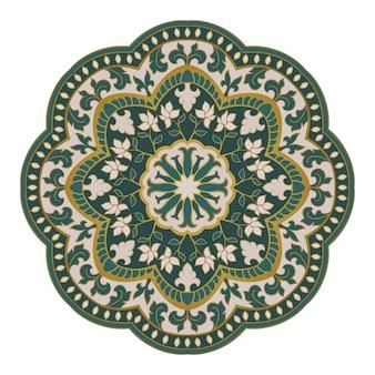 Vector oriental mandala.