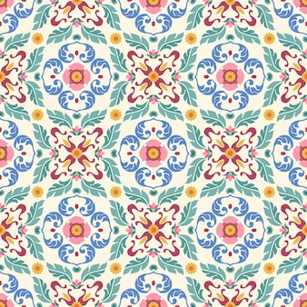 Vector ornament seamless pattern