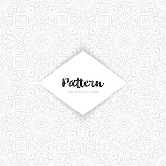 Vector ornamental mandala inspired ethnic art
