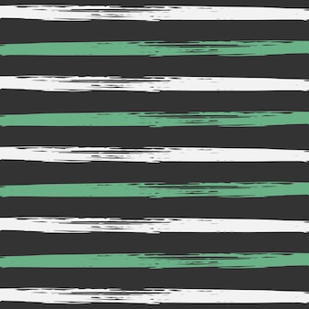 Vector  Pattern Striped Hand Painted Background.