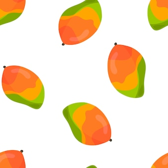 Vector pattern with bright yellow bananas tropical fruits pattern for tshirts postcards