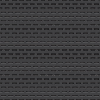 Vector perforated material seamless pattern