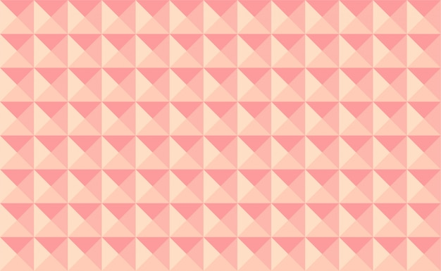 Vector pink pyramids background.