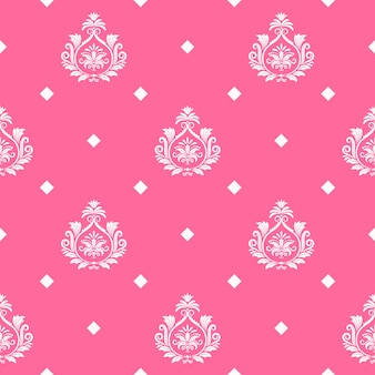 Vector princess seamless background. pattern endless, abstract ornamental royal fashion illustration