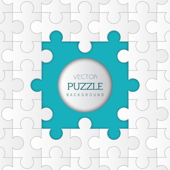 Vector Puzzle Abstract Background