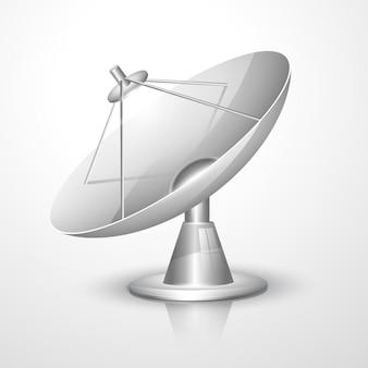 Vector radar dish