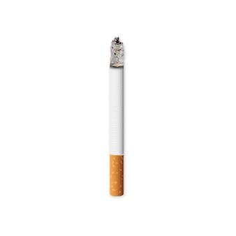 Vector realistic burning cigarette