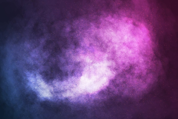 Vector realistic cosmic galaxy background