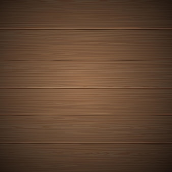 Vector realistic wood texture natural brown wooden table floor or wall surface