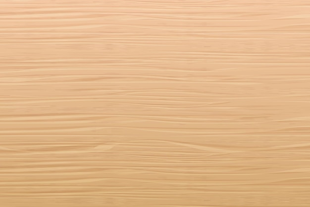 Vector realistic wood texture natural light brown pine tree table floor or wall surface background