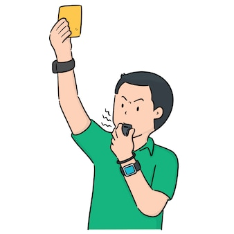 Vector of referee
