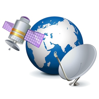 ベクトル衛星技術の概念