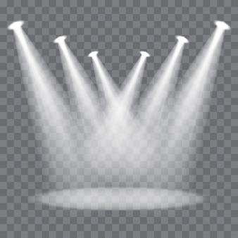 Vector scene spotlights