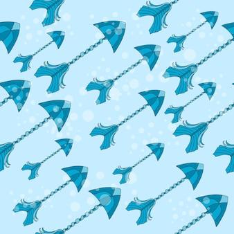 벡터 원활한 다채로운 민족 패턴 화살표 - 패턴 - 벡터