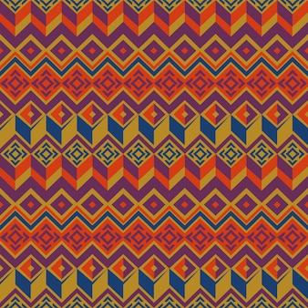 Vector seamless ethnic pattern.