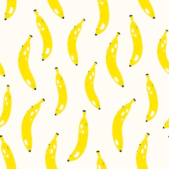 Vector seamless fruit pattern
