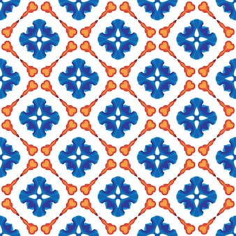 Vector seamless geometry pattern for postcards