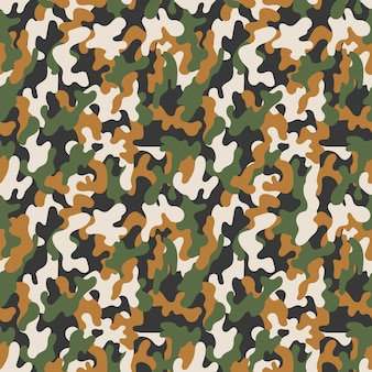 Vector seamless military camouflage pattern. seamless vector abstract background