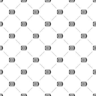 ベクトルのシームレスなパターン、バッテリー、編集可能webページの背景、パターンの塗りつぶしに使用できます