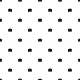 ベクトルのシームレスなパターン、ビジネスバッグ、編集可能webページの背景、パターンの塗りつぶしに使用できます