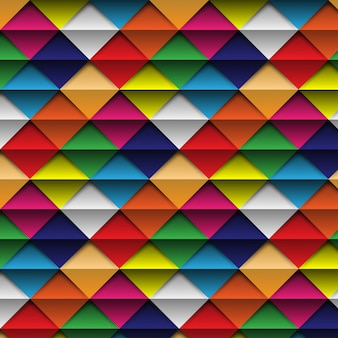 Vector seamless Pattern Colorful abstract background