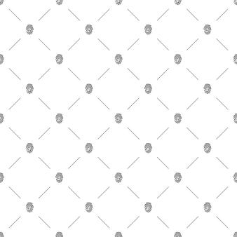 Бесшовный узор вектор, отпечаток пальца, редактируемый, может использоваться для фона веб-страницы, заливки узором