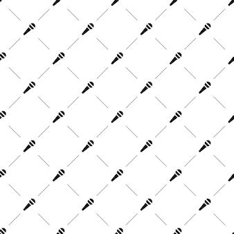 웹 페이지 배경, 패턴 채우기에 벡터 원활한 패턴, 마이크, 편집 가능을 사용할 수 있습니다.