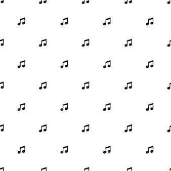 Бесшовный узор вектор, музыка, редактируемый, может использоваться для фона веб-страницы, заливки узором