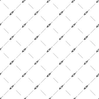 웹 페이지 배경, 패턴 채우기에 벡터 원활한 패턴, 주사기, 편집 가능을 사용할 수 있습니다.