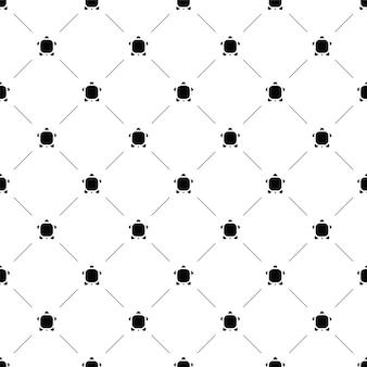 Бесшовный узор вектор, черепаха, редактируемый, может использоваться для фона веб-страницы, заливки узором