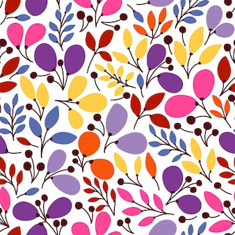 Vector seamless pattern with leaves. it can be used for desktop wallpaper or frame for a wall hanging or poster,for pattern fills, surface textures, web page backgrounds, textile and more.