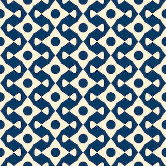 Vector seamless pattern with repeating objects. monochrome minimalist graphic design.