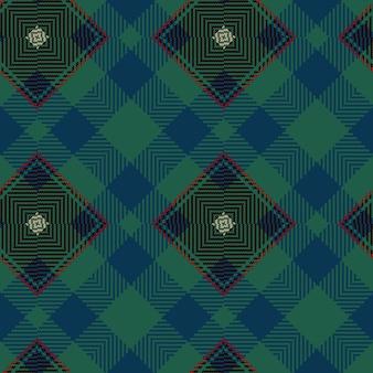 Вектор бесшовные тартан. урожай новогодний фон. бесшовные клетчатый плед. геометрический дизайн моды. рождественский абстрактный узор. шотландская тканая текстура. классический тартан бесшовные модели.