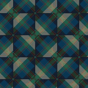 Vector seamless tartan pattern. vintage christmas background. seamless tartan plaid. fashion geometric design. christmas abstract pattern. scottish woven texture. classic tartan seamless pattern.
