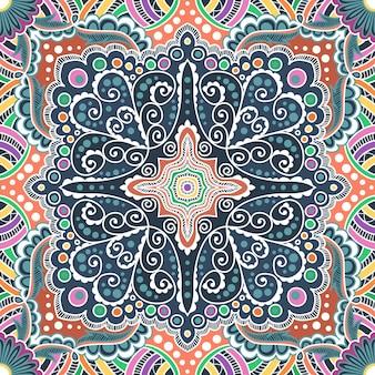 나선형, 소용돌이, 사슬의 벡터 원활한 잡색 패턴