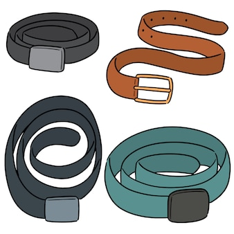 Vector set of belt