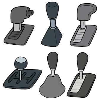 Vector set of car transmission