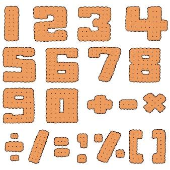 Vector set of cracker number