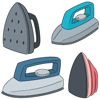Vector set of iron