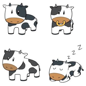 牛のベクトルセット