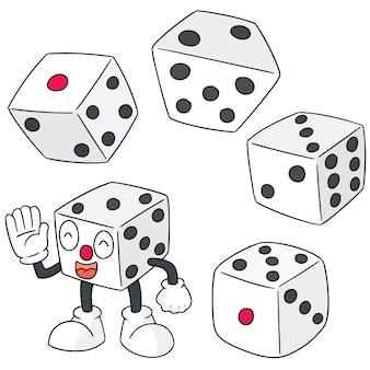 Векторный набор кубиков