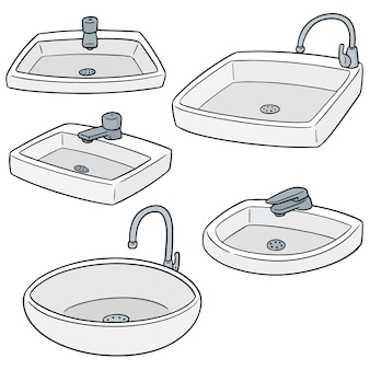 Vector set of sink