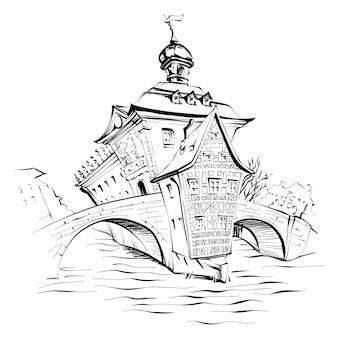 Векторный рисунок бамберга