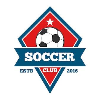 ベクトルサッカーロゴ