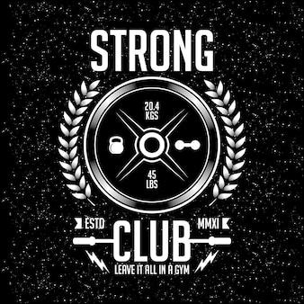 Vector sport design strong club