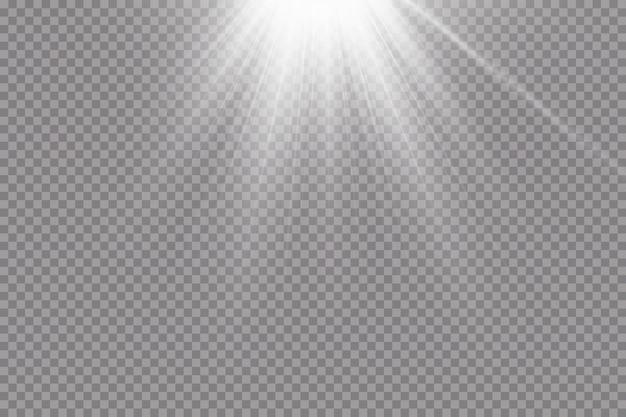 Вектор прожектор. световой эффект