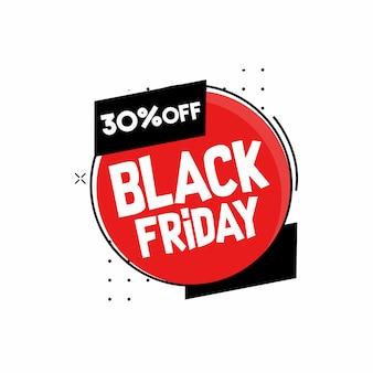 Vector square black friday web banner